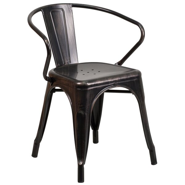Kalmanovitz Stacking Patio Dining Chair by Trent Austin Design