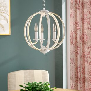Price Check Madrid 3-Light Chandelier By Ophelia & Co.