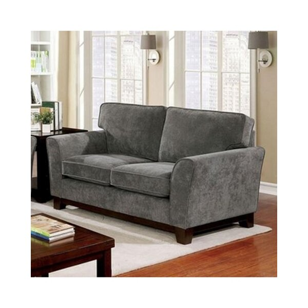 Turnhouse 34 Inches Flared Arms Loveseat By Red Barrel Studio