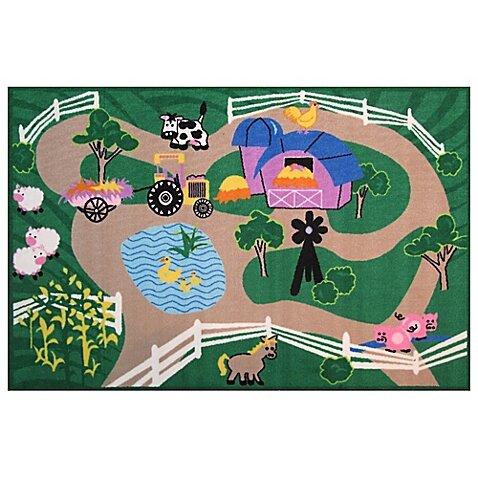 Fun Time Farm Roads Area Rug by Fun Rugs