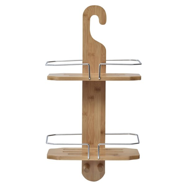 Bamboo Shower Caddy by Evideco