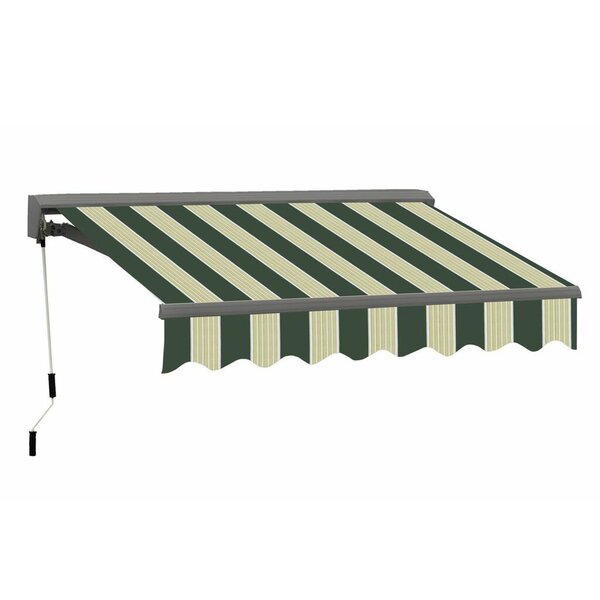 Classic Series Electric Retractable Patio Awning by Advaning