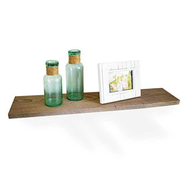 El Segundo Industrial Barnwood Wall Shelf by Loon Peak