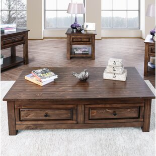 Reviews Jansen Coffee Table with Storage ByAlcott Hill