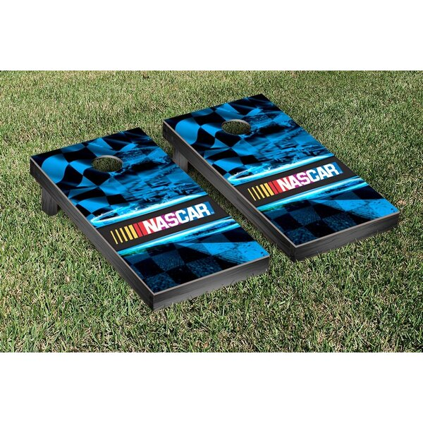NASCAR Race Track Version 1 Cornhole Game Set by Victory Tailgate