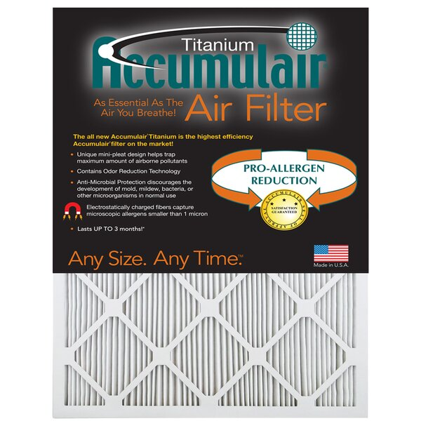 Titanium Air Filter (Set of 4) by Accumulair
