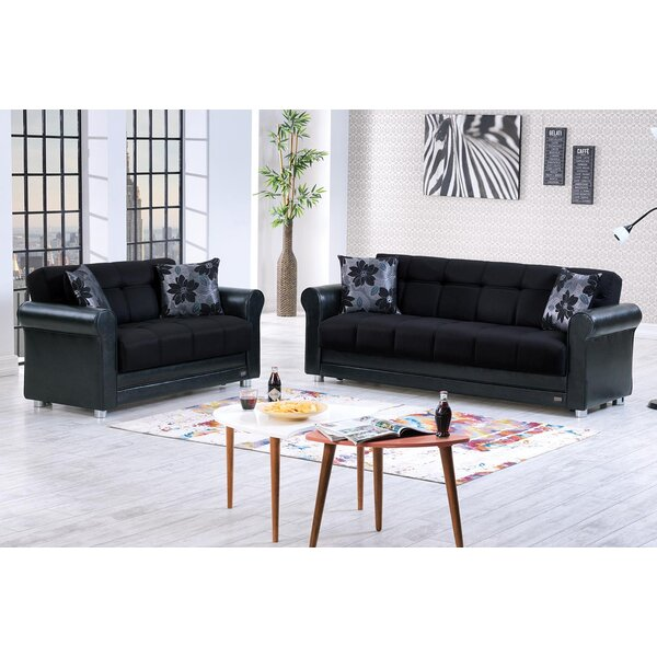Mefford Sleeper Living Room Set by Latitude Run