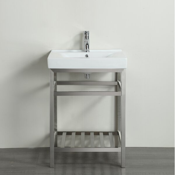 Strauss 24 Single Bathroom Vanity Set by Ebern Designs