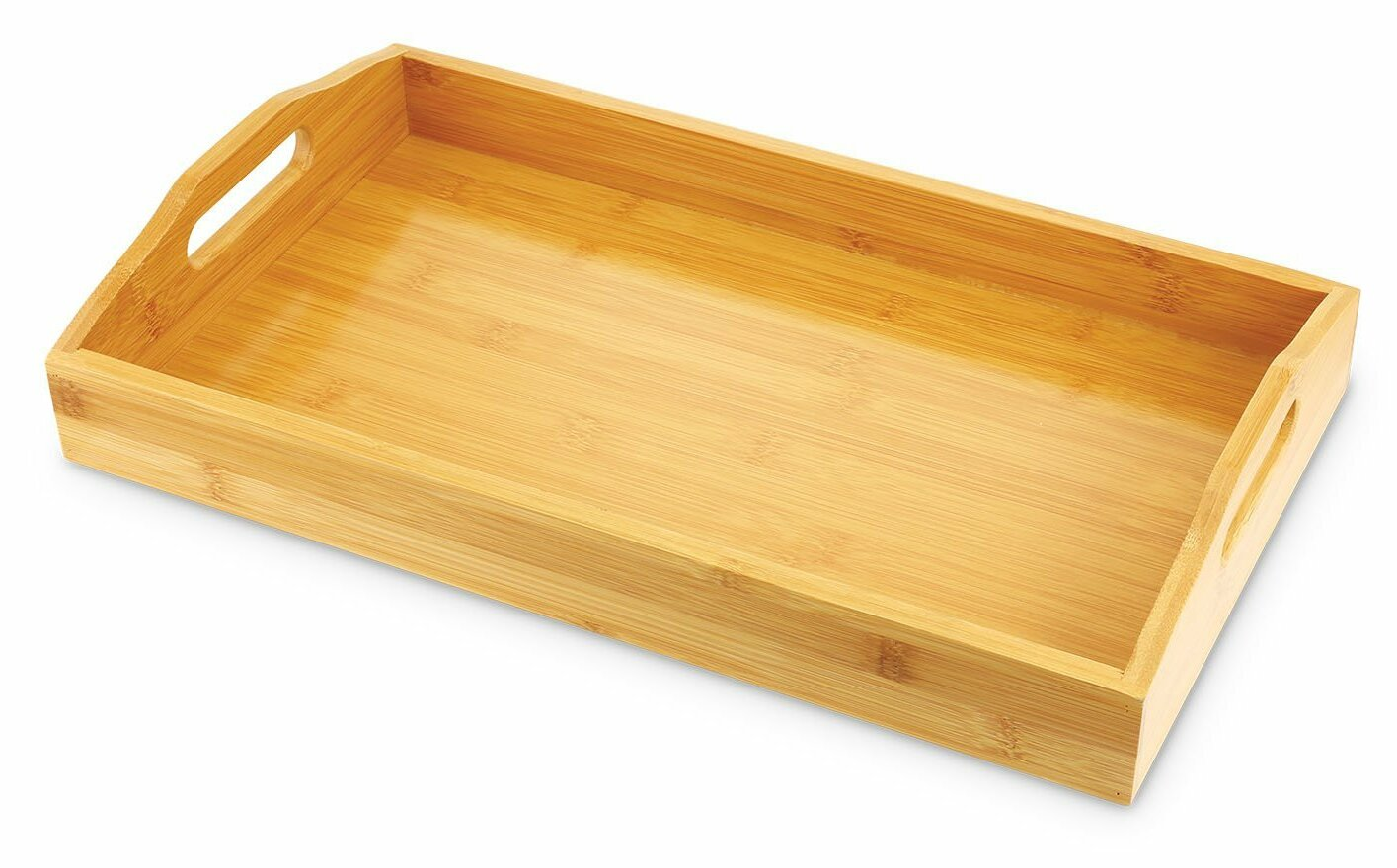 Millwood Pines West Hill Bamboo Serving Tray & Reviews | Wayfair