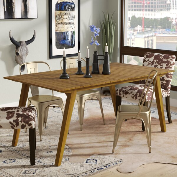 Lindo Rustic Wood Dining Table by Union Rustic