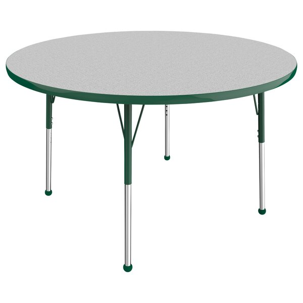 5 Piece Circular Activity Table & 16 Chair Set by ECR4kids