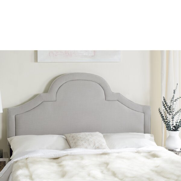 Jada Arched Upholstered Panel Headboard by House of Hampton