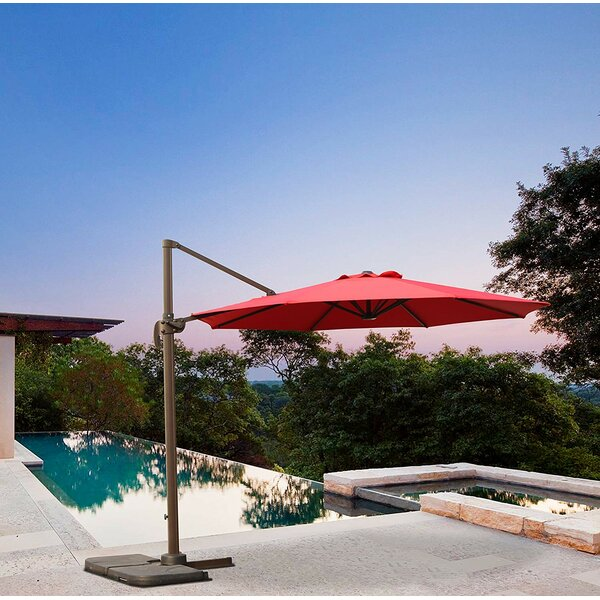 Theodora 10' Cantilever Umbrella by Darby Home Co Darby Home Co