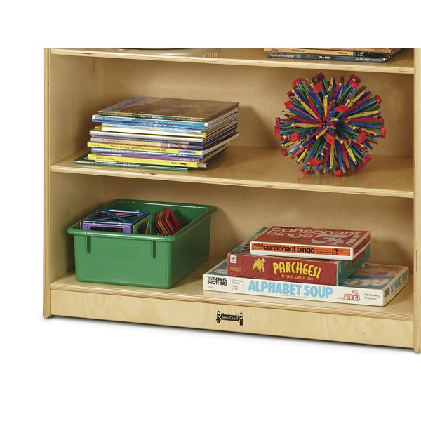 Fixed Straight 2 Compartment Book Display by Jonti-Craft
