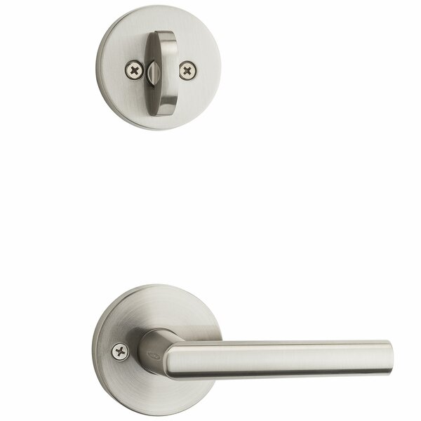 Milan Single Cylinder Entrance Handleset, Interior Handle Only by Kwikset
