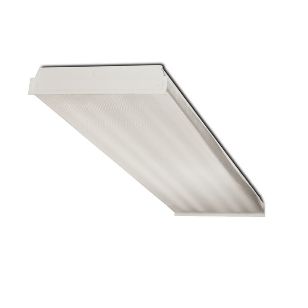 4-Light Fluorescent Wrap Light Fixture by Howard Lighting