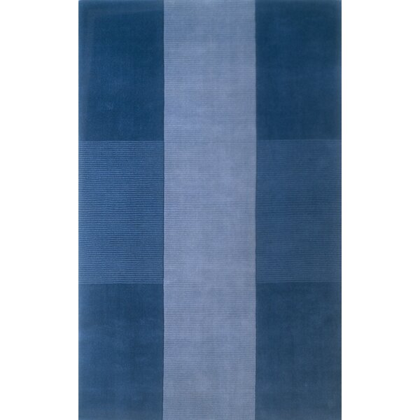 Matson Hand-Tufted Light Blue Area Rug by Breakwater Bay