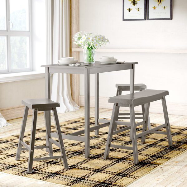 Cormac 4 Piece Pub Table Set by Mistana
