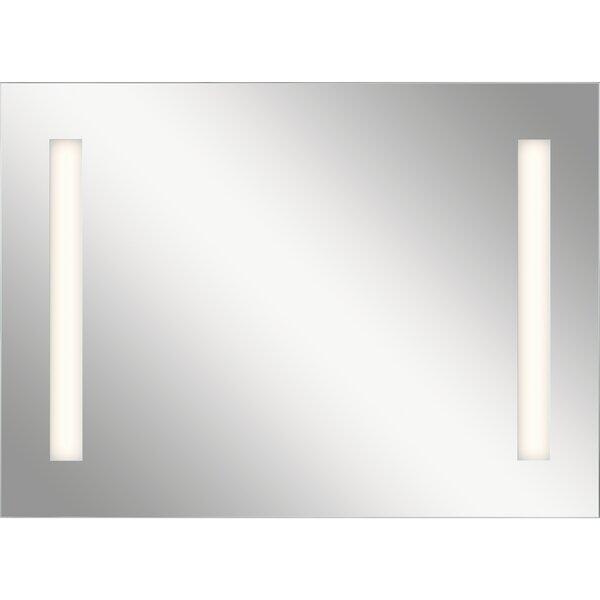 Ritzman Modern LED Backlit Accent Mirror with Soundbar by Orren Ellis