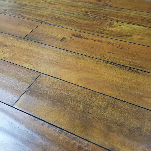 Heartland 5 x 48 x 12mm Maple Laminate Flooring in Sunset by Bellami
