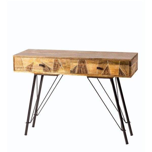 Review Jenkins 2 Drawer Console Table