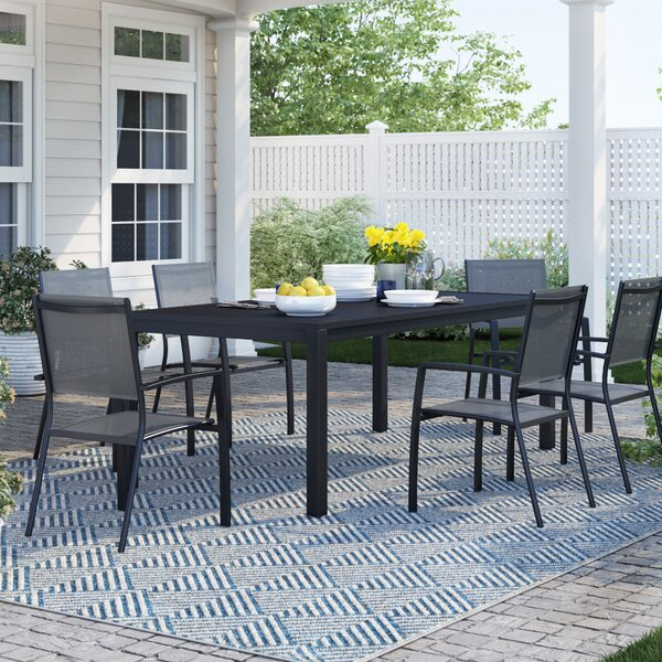 Rayleigh 7 Piece Dining Set by Sol 72 Outdoor