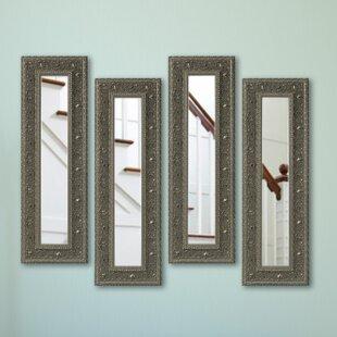 Astoria Grand Opulent Accent Mirror (Set of 4)
