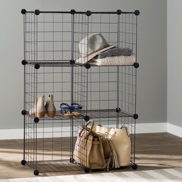 Wayfair Basics 44.8 H x 30.3 W 6 Cube Shelving Unit by Wayfair Basics™