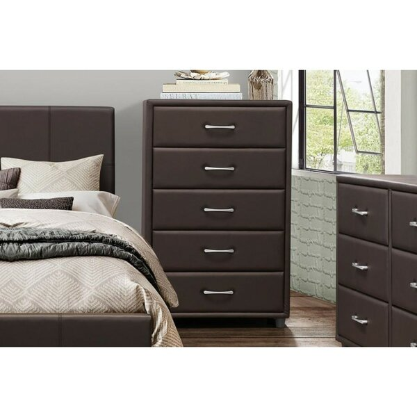Nielsville 5 Drawer Lingerie Chest by Latitude Run