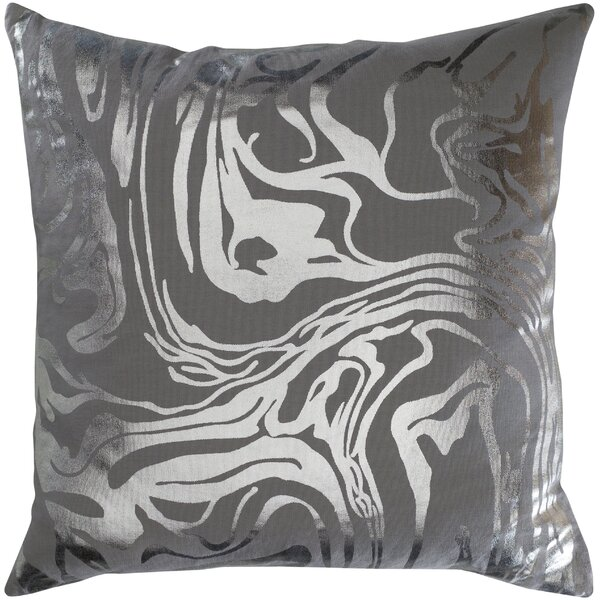 Ruffin Modern Abstract Cotton Throw Pillow by Mercer41