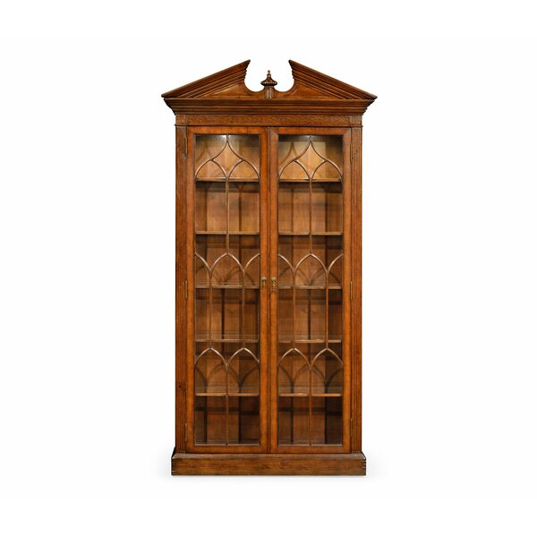 Windsor Glazed Lighted Curio Cabinet by Jonathan Charles Fine Furniture