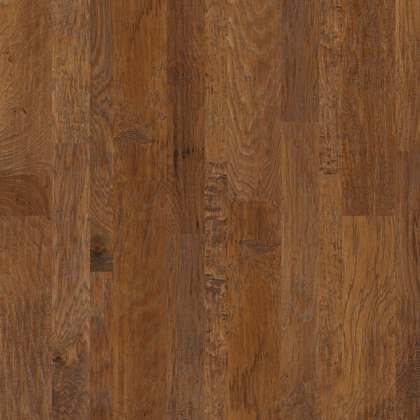Greensboro Random Width Engineered Hickory Hardwood Flooring in Abalone by Shaw Floors