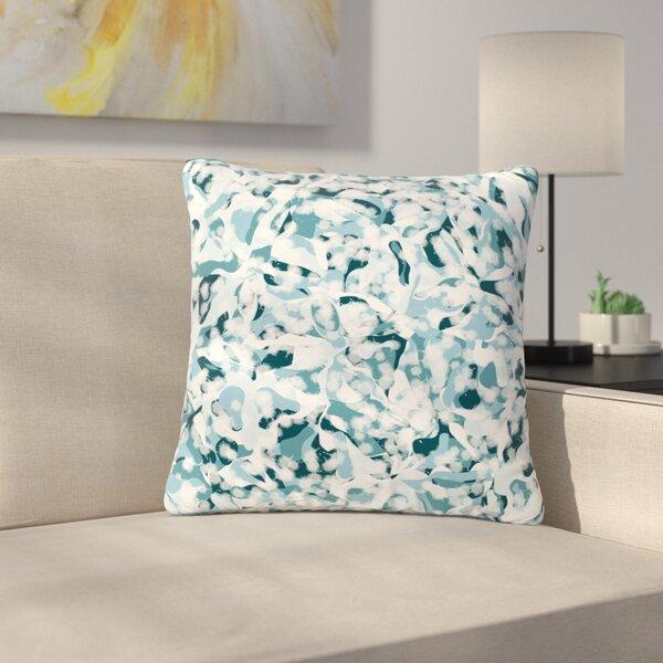 Angelo Cerantola Waterflowers Digital Outdoor Throw Pillow by East Urban Home