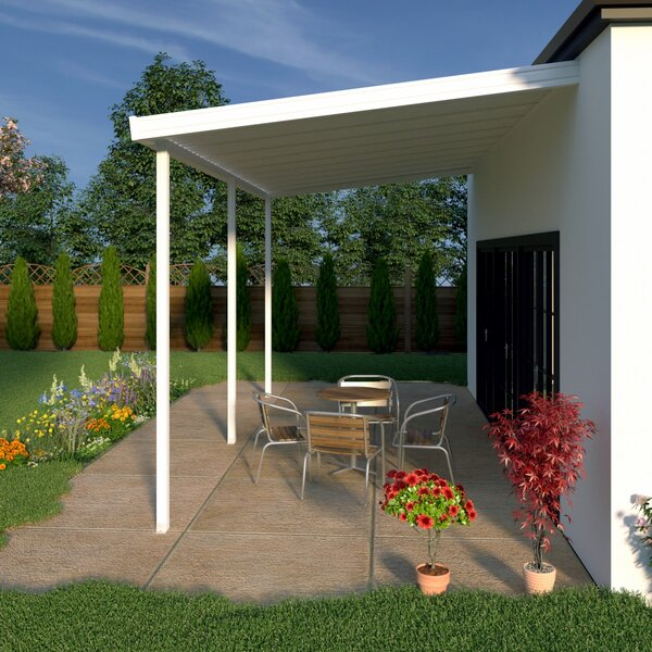 12 ft. W x 10 ft. D Patio Awning by Heritage Patios