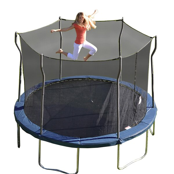 Propel Trampolines Kinetic 12' Round Trampoline And Safety