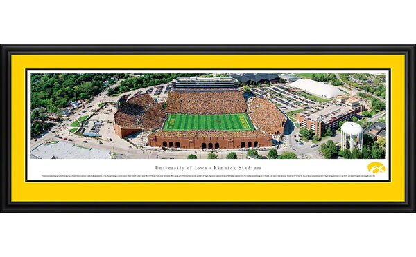 NCAA Aerial -Deluxe Framed Photographic Print by Blakeway Worldwide Panoramas, Inc
