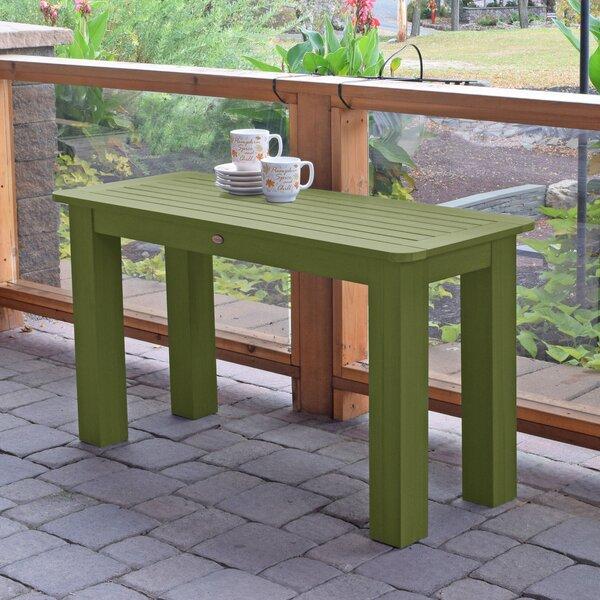 Bouchard Plastic/Resin Dining Table by Longshore Tides Longshore Tides