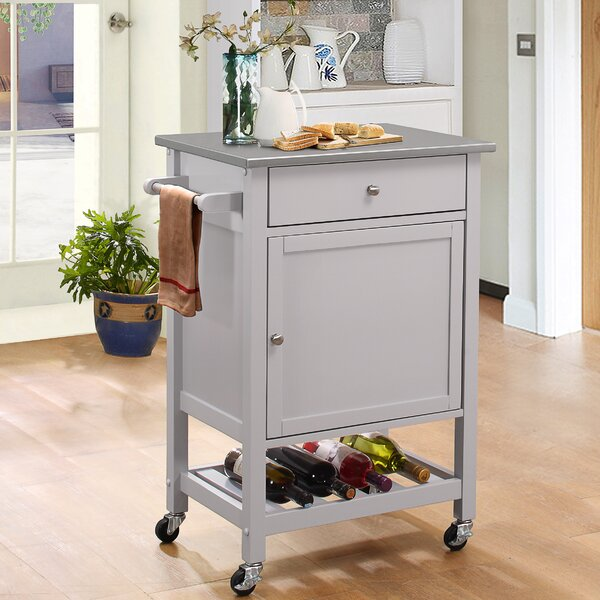 Chelmsford Kitchen Cart by Red Barrel Studio