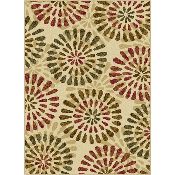 Strope 3 Piece Ivory Area Rug Set by Red Barrel Studio