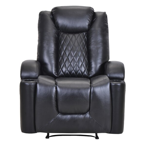 Mode Faux Leather Power Lift Assist Recliner W003402917