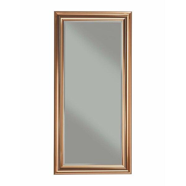 Tovar Rectangular Polystyrene Frame Full Length Mirror by Fleur De Lis Living