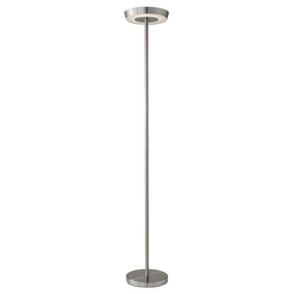 led pdp floors lamp allmodern torchiere lighting reviews floor