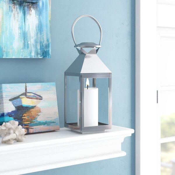 Glass Lantern by Breakwater Bay