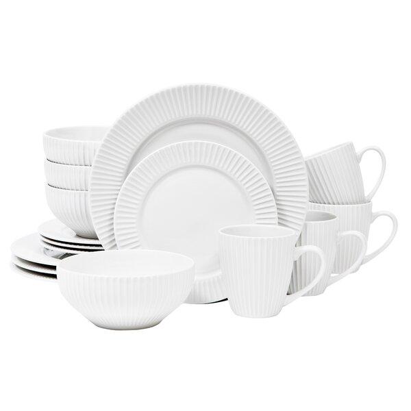 Aventura 16 Piece Dinnerware Set, Service For 4 by Sango