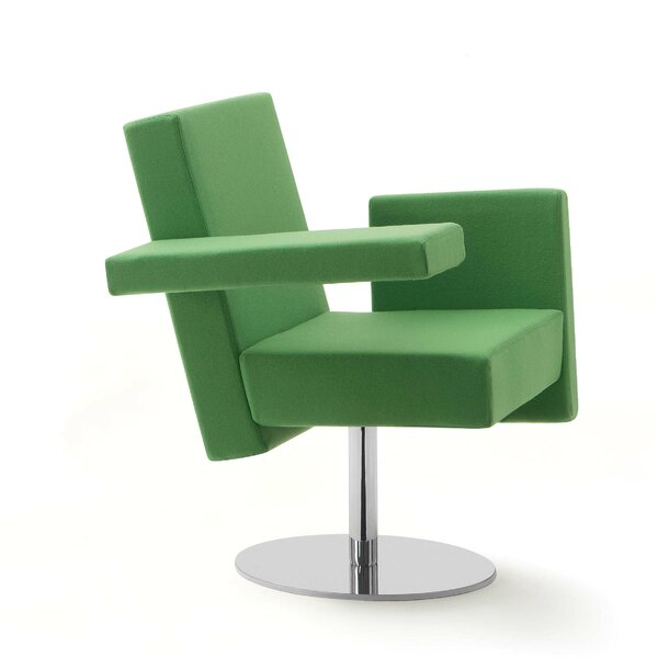 Meet Me Swivel Arm Guest Chair by Segis U.S.A