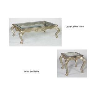 Louis 2 Piece Coffee Table Set Benetti's Italia