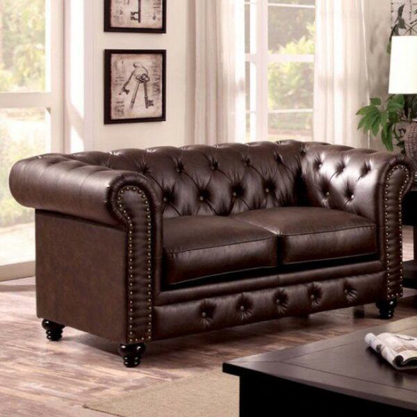 Favela Traditional Loveseat by Darby Home Co