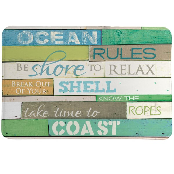 Hampton Ocean Rules Mat