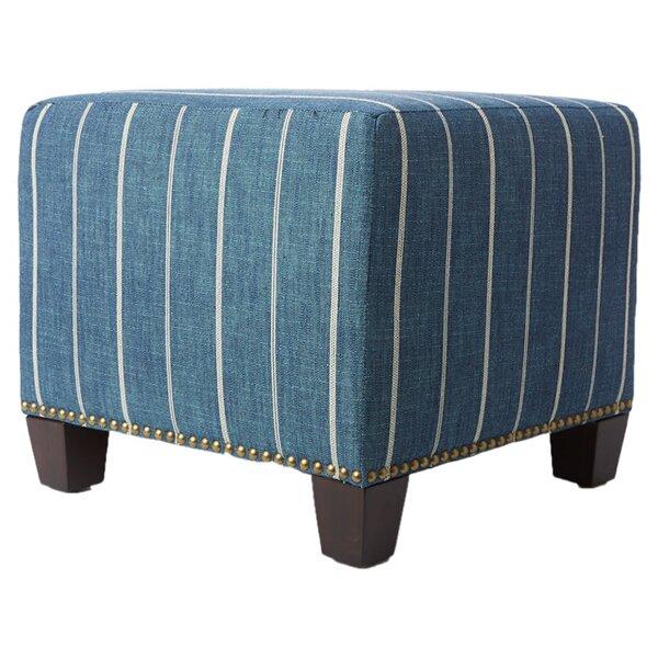 Parker Cube Ottoman by Skyline Furniture