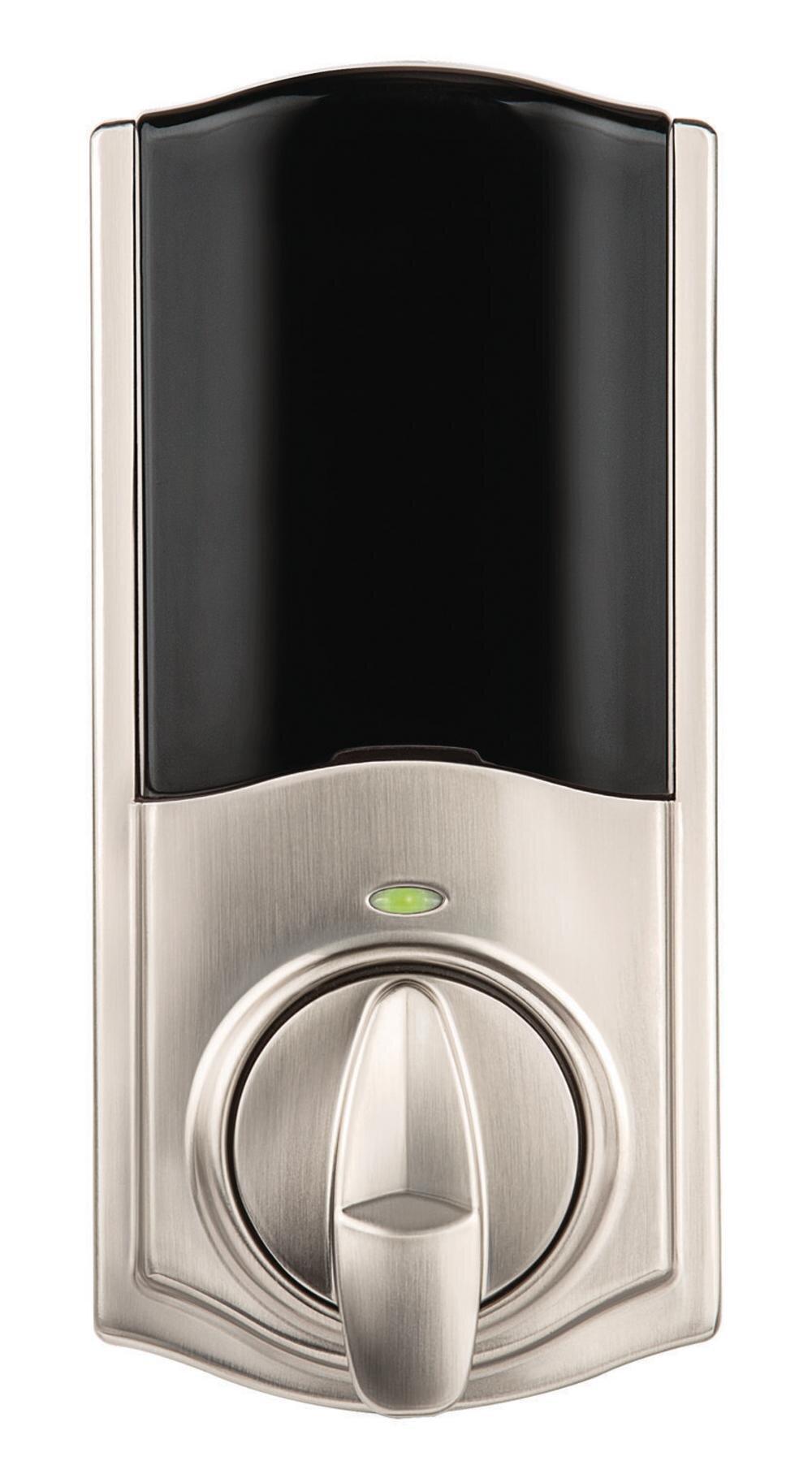 Kwikset Convert Single Cylinder Smart Deadbolt With Bluetooth Capability Wayfair